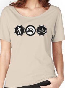 bikes Women's Relaxed Fit T-Shirt