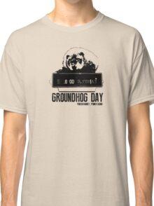 Groundhog Day  Alarm Clock  Punxsutawney T-shirt Classic T-Shirt