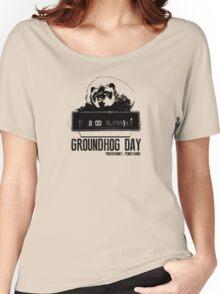 Groundhog Day  Alarm Clock  Punxsutawney T-shirt Women's Relaxed Fit T-Shirt