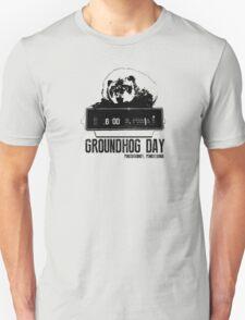 Groundhog Day  Alarm Clock  Punxsutawney T-shirt T-Shirt
