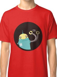 Droid says hello :) Classic T-Shirt