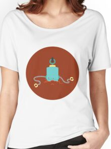 Droid goes donk! Women's Relaxed Fit T-Shirt