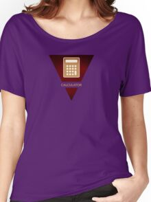 symbols: the calculator Women's Relaxed Fit T-Shirt