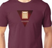 symbols: the calculator Unisex T-Shirt