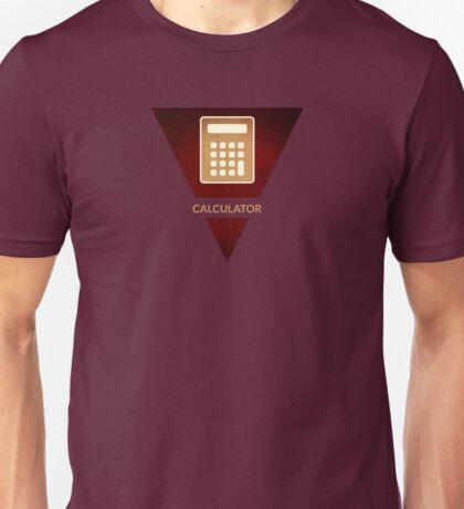 symbols: the calculator Unisex T-Shirt