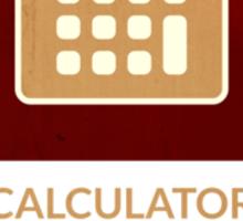 symbols: the calculator Sticker