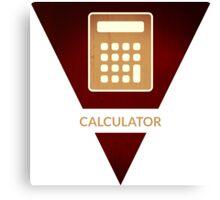 symbols: the calculator Canvas Print