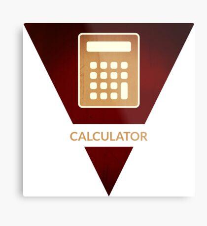 symbols: the calculator Metal Print