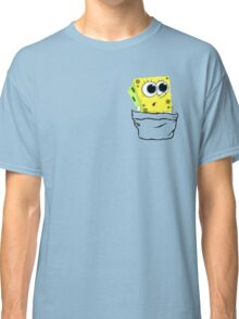 Spongebob in the pocket! Classic T-Shirt