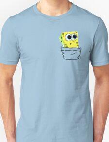 Spongebob in the pocket! Unisex T-Shirt