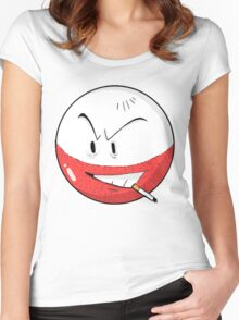 #101 Electrode Women's Fitted Scoop T-Shirt