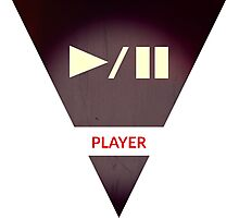 symbols: the player Photographic Print