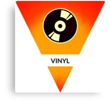 symbols: the vinyl / record Canvas Print