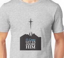 Christmas: Oh Come Let Us Adore Him Unisex T-Shirt