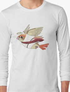 aaabaaajss - Bird Jesus Long Sleeve T-Shirt