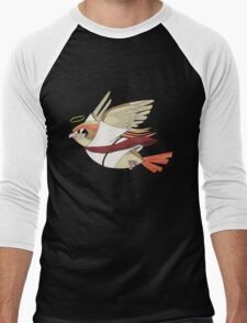 aaabaaajss - Bird Jesus Men's Baseball ¾ T-Shirt