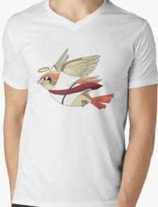 aaabaaajss - Bird Jesus Mens V-Neck T-Shirt