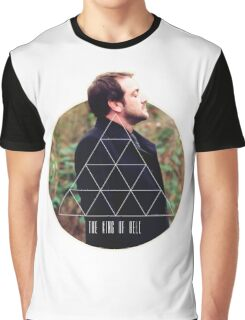 Hipster Crowley Graphic T-Shirt