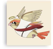aaabaaajss - Bird Jesus Canvas Print