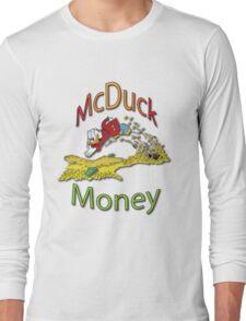 Scrooge McDuck Long Sleeve T-Shirt