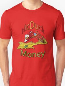 Scrooge McDuck Unisex T-Shirt