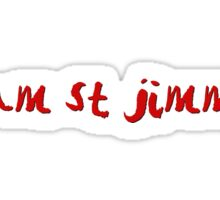 St Jimmy Sticker