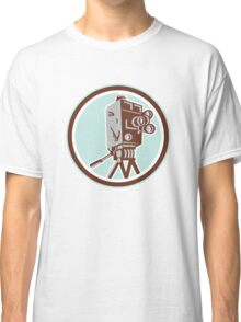 Vintage Movie Film Camera Retro Classic T-Shirt