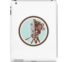 Vintage Movie Film Camera Retro iPad Case/Skin