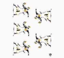 Banksy Python (5 Stickers) by kgullholmen