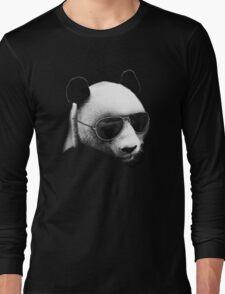 Aviator Panda Bear Long Sleeve T-Shirt