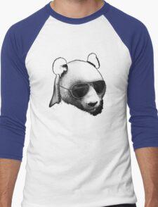 Aviator Panda Bear Men's Baseball ¾ T-Shirt