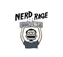 Nerd Rage Photographic Print
