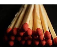Matches Photographic Print