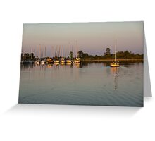 Lazy Summer Afternoon Sail Greeting Card