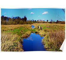 River Chet, Norfolk Poster