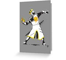 Banksy Python 1-2-5 Greeting Card