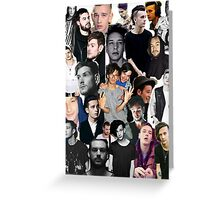 The 1975 Collage Greeting Card