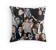 The 1975 Collage Throw Pillow