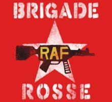 Distressed Brigade Rosse by 8balltshirts