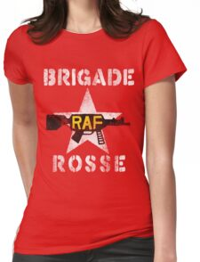 Distressed Brigade Rosse Womens Fitted T-Shirt