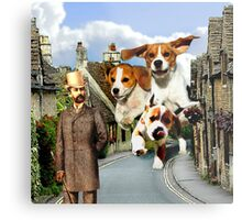 Hounds of the Baskervilles Metal Print