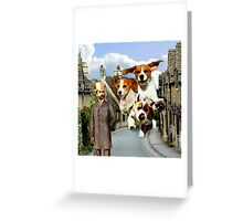 Hounds of the Baskervilles Greeting Card
