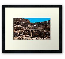 The Collosseum. Framed Print