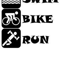 Swim Bike Run by kwg2200