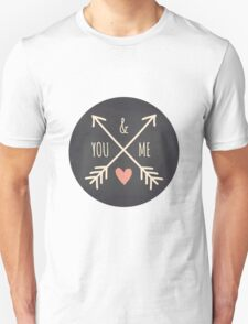 Chalkboard Arrows & Heart T-Shirt