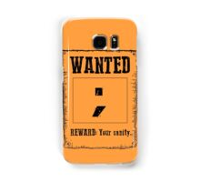 Wanted ; Samsung Galaxy Case/Skin
