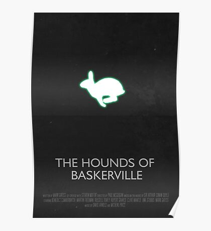 Sherlock - The Hounds Of Baskerville Poster