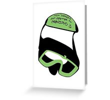 P Sherman 42 Wallaby Way Goggles Greeting Card