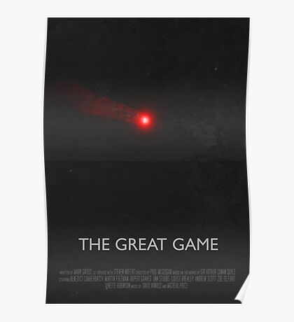 Sherlock - The Great Game Poster