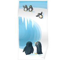 Penguin Playground Poster